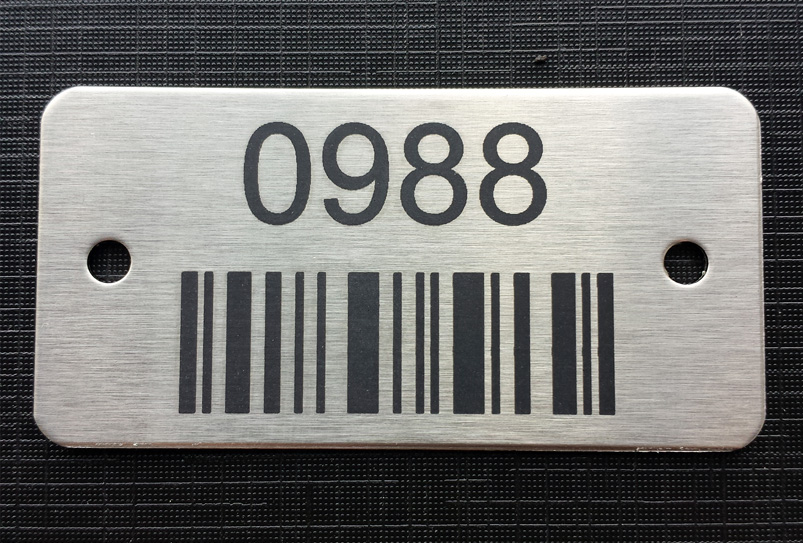 Stainless Steel Asset Tags
